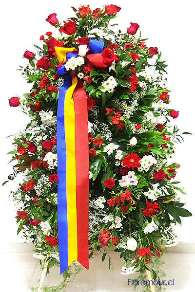 Ofrenda Conmemorativa en Atril instituciones - empresas