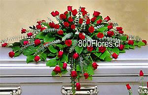 Cubre caja de Rosas de Luxe.