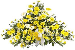 Arreglo de flores fúnebre de condolencias