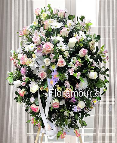 Coronas Condolencias Para Empresas Arreglos Florales